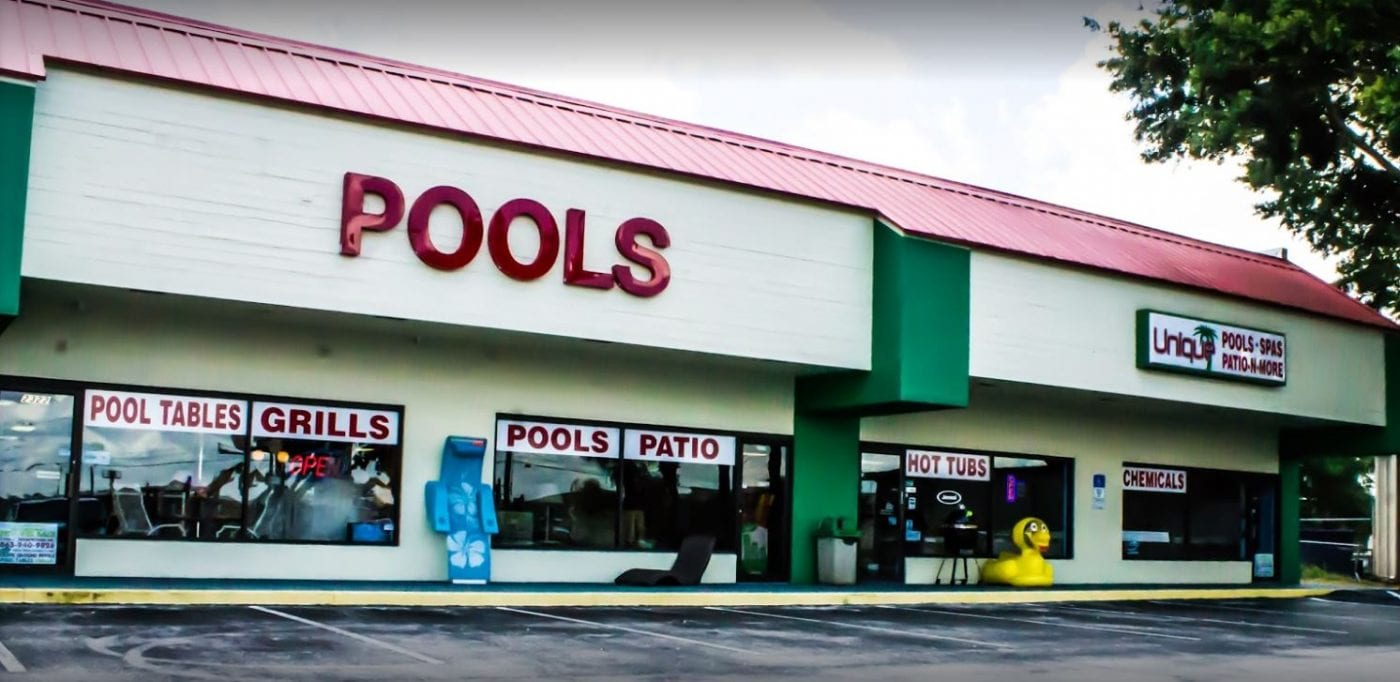 Hot Tub, Classic Shop – Front Page